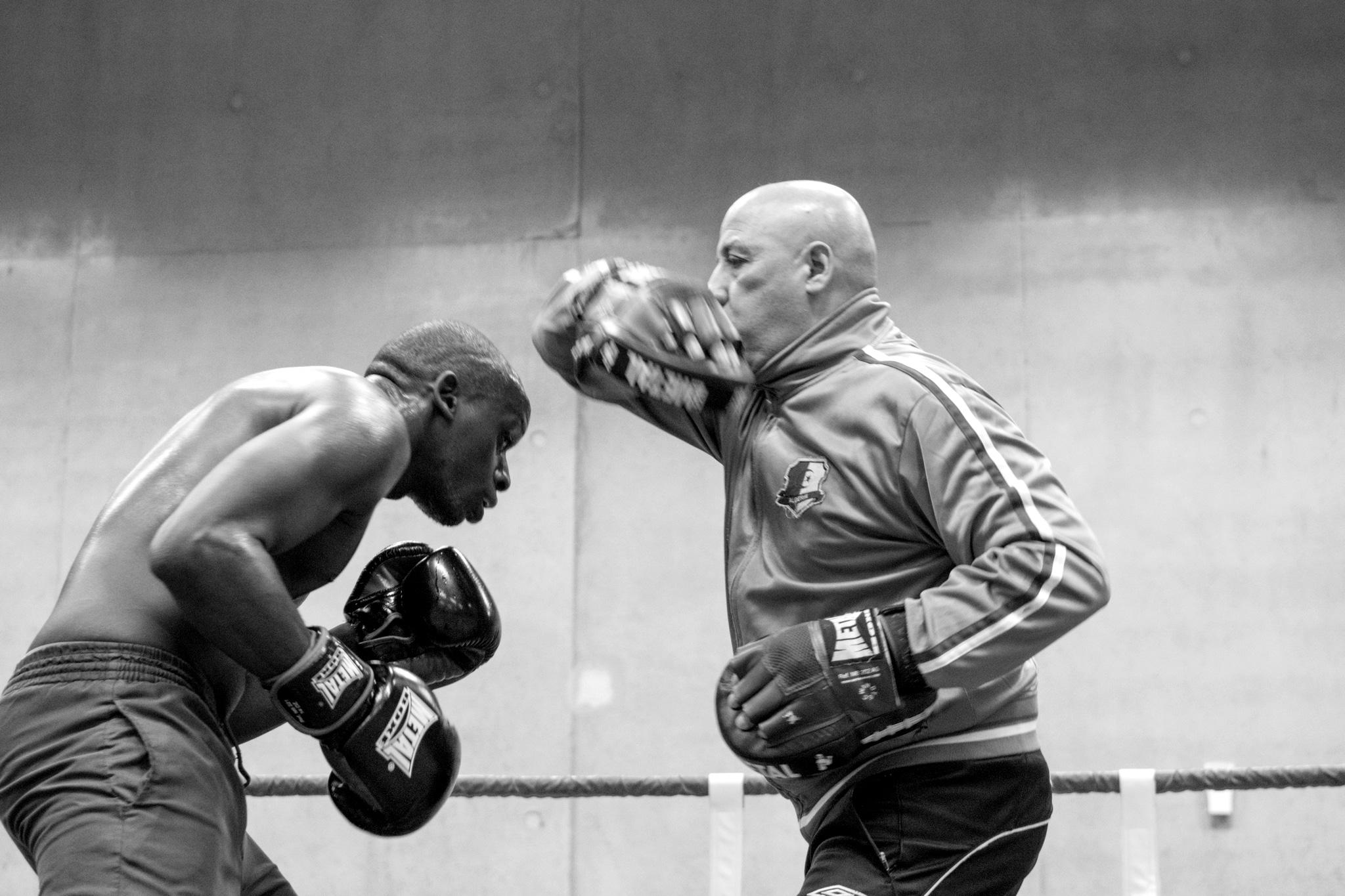 reportage photo Damien Journée Boxe