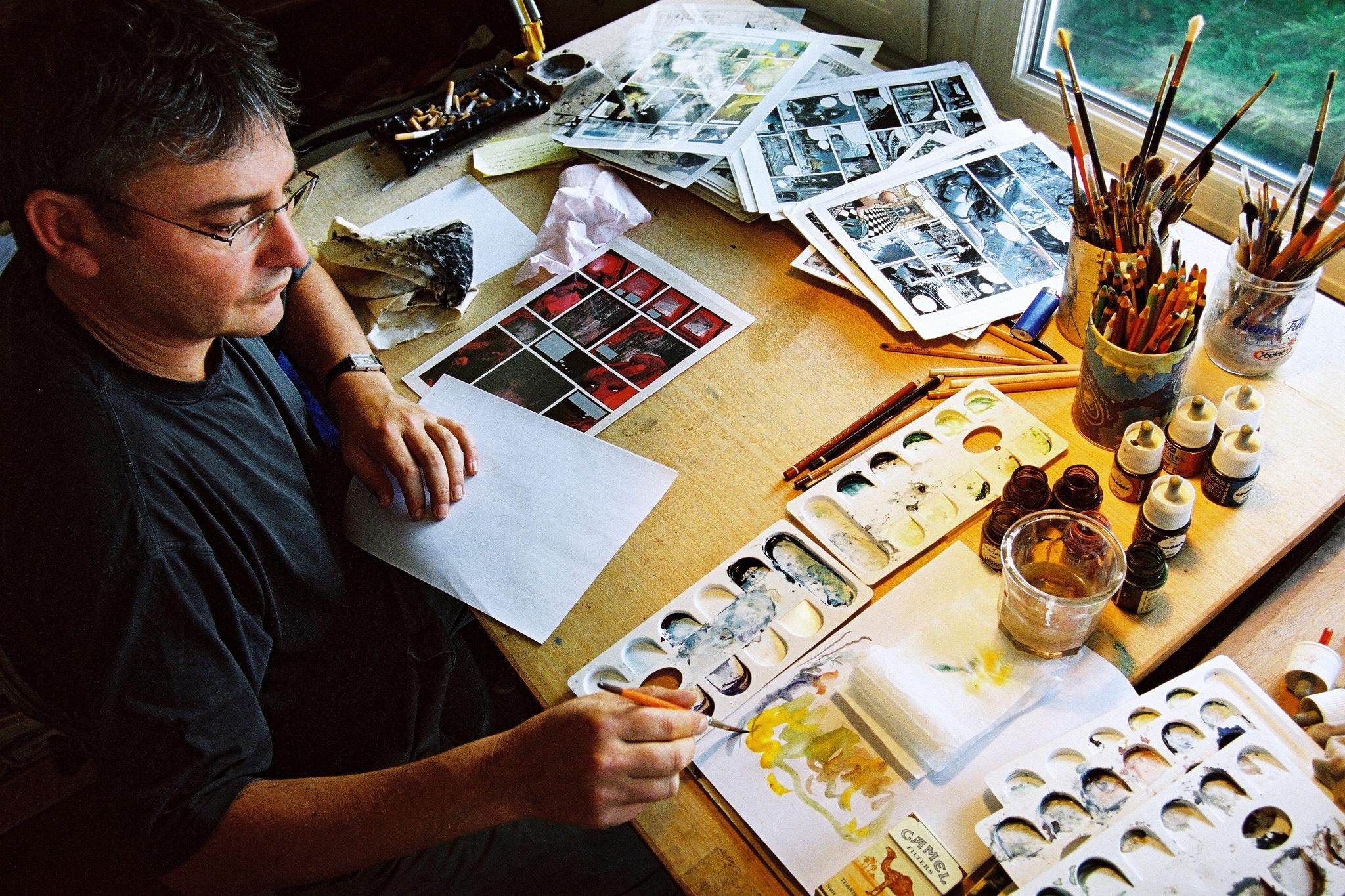 Laurent Vicomte - photo damien Journée