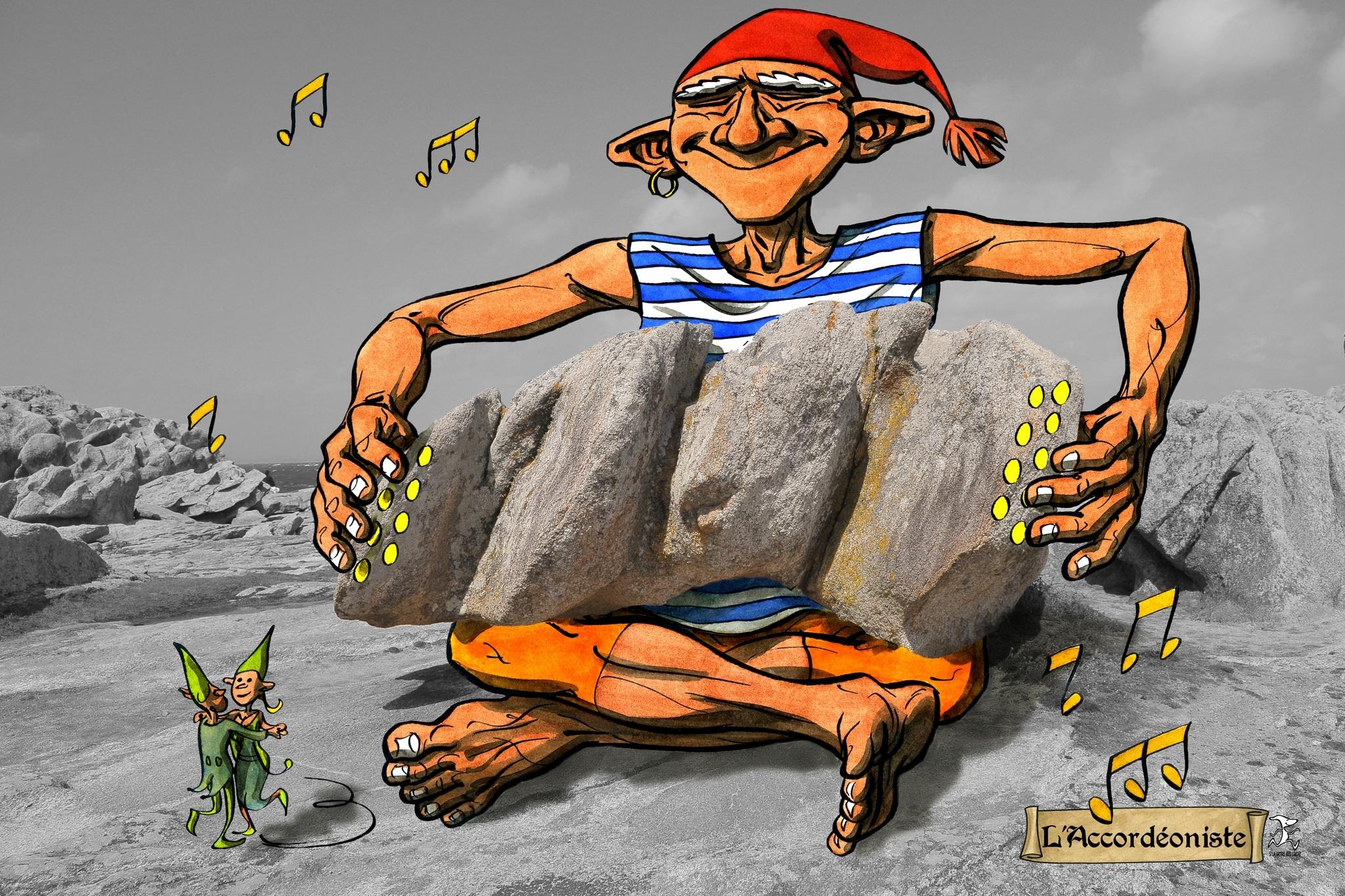 accordéon 02 bd dessin penmarc'h dessin julien Lamanda photo damien Journée