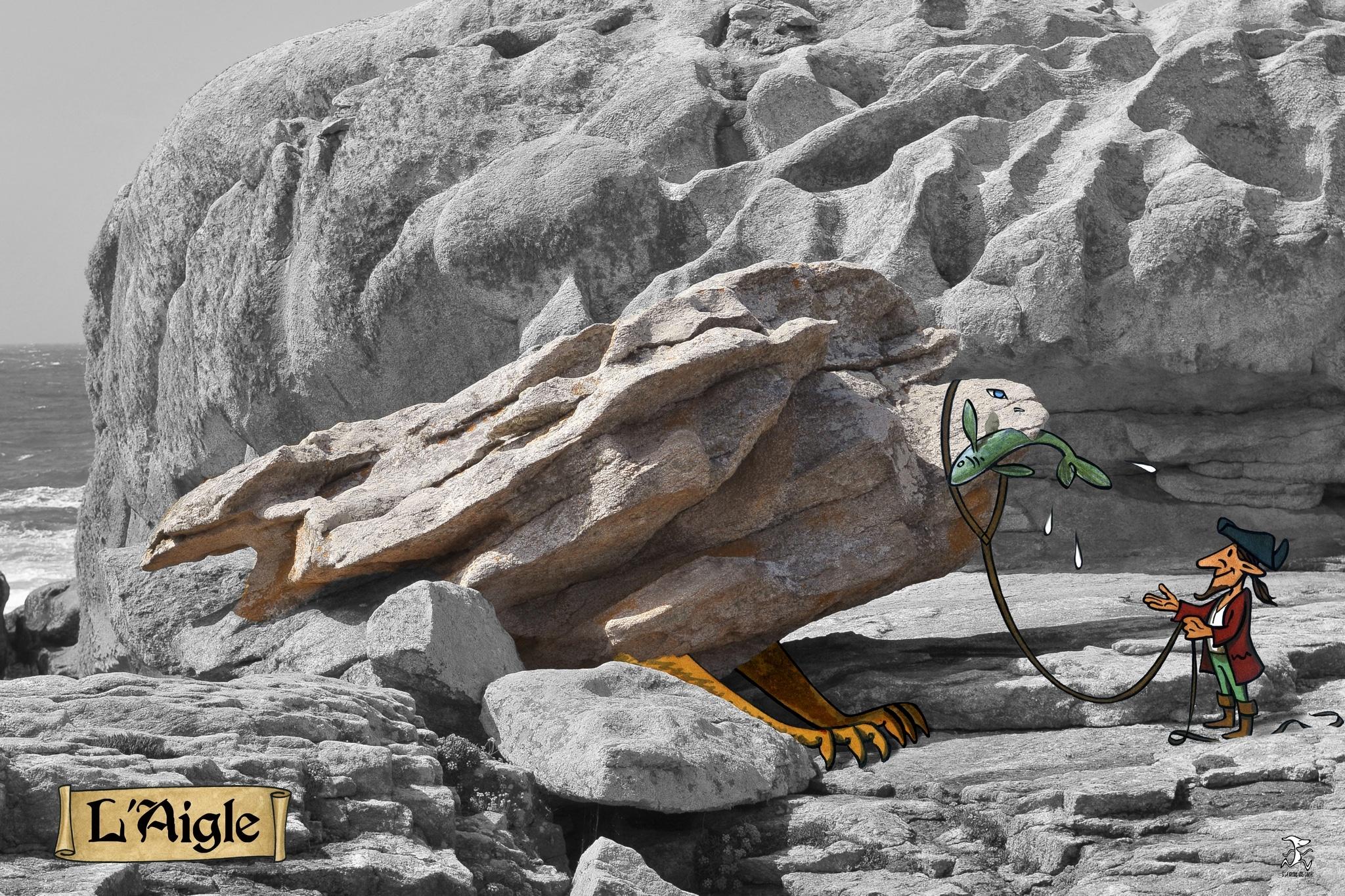 aigle 02 bd dessin penmarc'h dessin julien Lamanda photo damien Journée