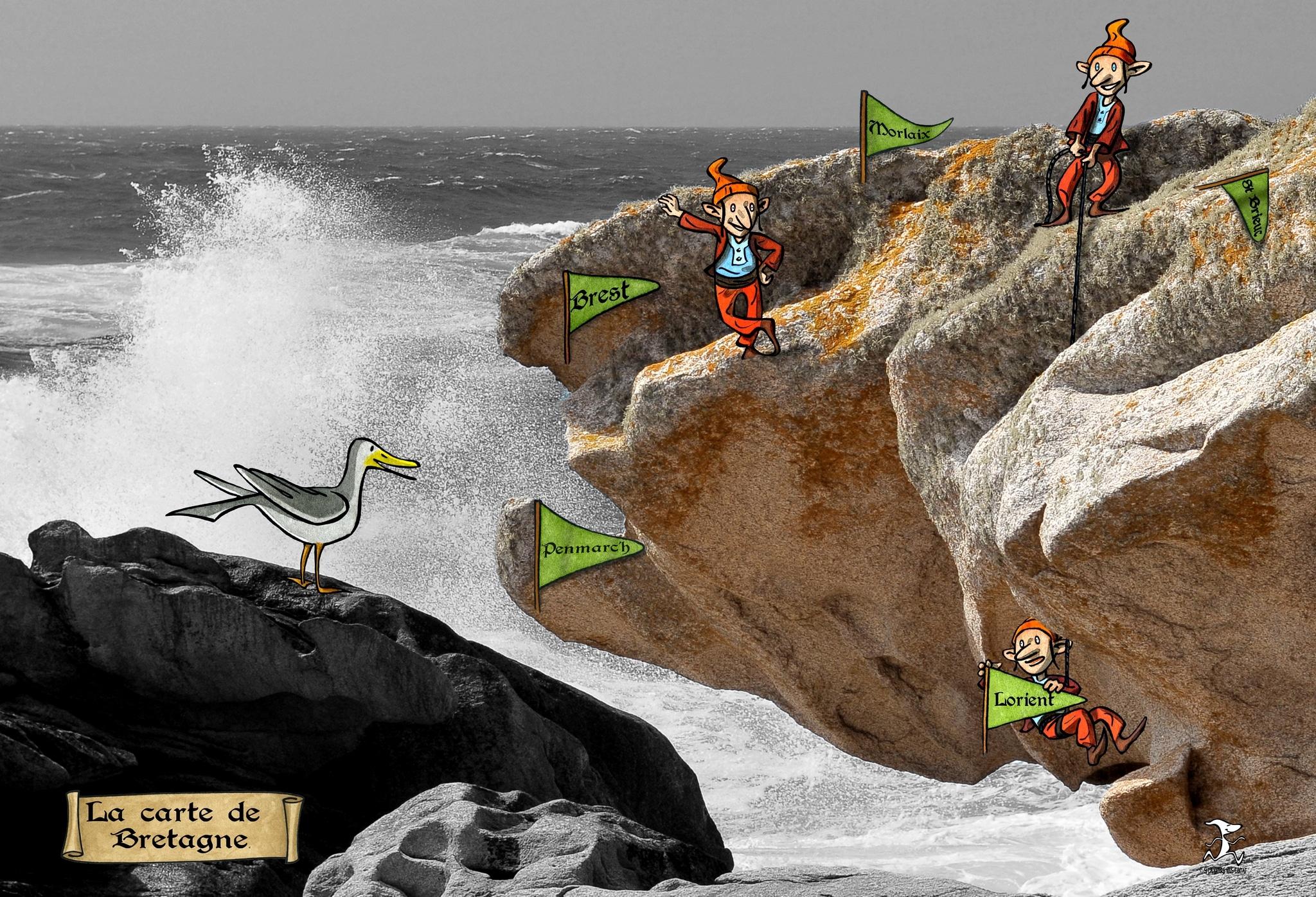 carte bretagne 02 bd dessin penmarc'h dessin julien Lamanda photo damien Journée